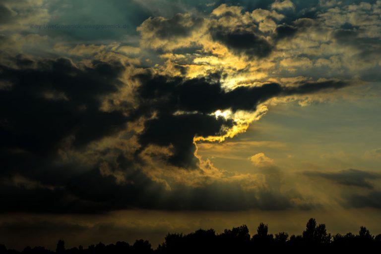 Abendhimmel an der Havel
