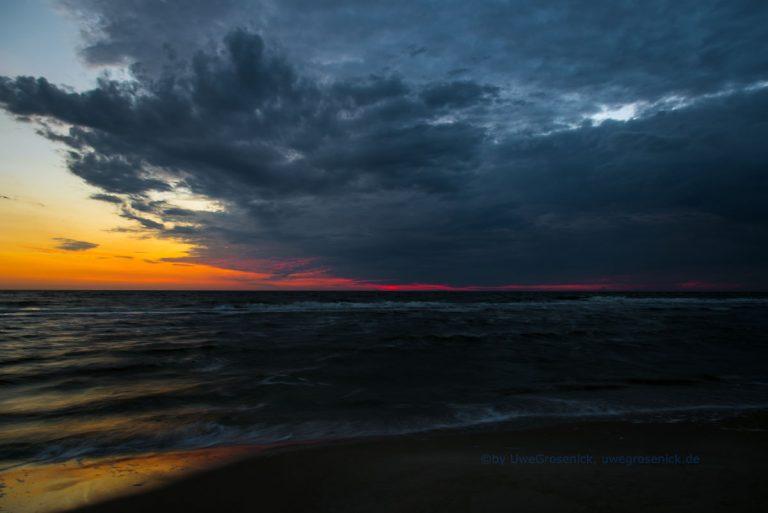 Sonnenaufgang nahe Zinnowitz