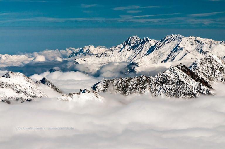 über den Wolken im Ötztal