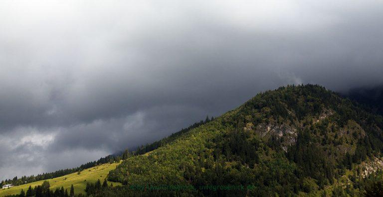drohendes Gewitter im Oberallgäu